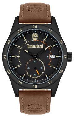 Herren Armbanduhr Timberland Lederband braun TBL15948JYB.02
