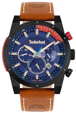 Timberland Herren Armbanduhr Multifunktion Lederband TBL15951JSB.03
