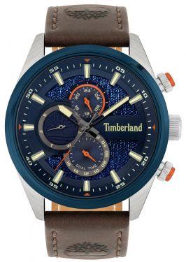Timberland Herren Armbanduhr TBL15953JSTBL.03 Lederband braun