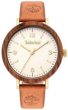 Timberland Damen Armbanduhr Lederband braun TBL15958MYGBN.07