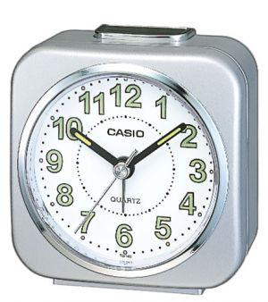 Casio Wecker Uhr TQ-143S-8EF silber Reisewecker Wake up Timer