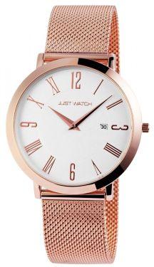 Just Watch Unisex Milanaise Armband JW20003-002 Uhr Slimline