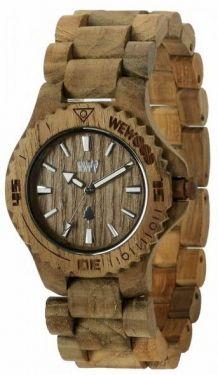 Wewood Holzuhr Damenuhr DATE TEAK Armbanduhr