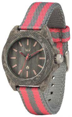 Wewood Holzuhr Armbanduhr Damenuhr Phoenix 38 Teak Pink WW54002