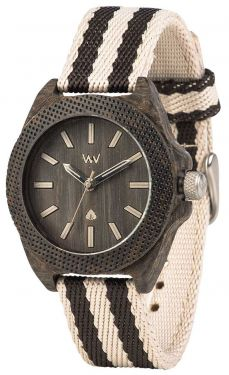 Wewood Holzuhr Armbanduhr Damenuhr Phoenix 38 Wenge Grey WW54001