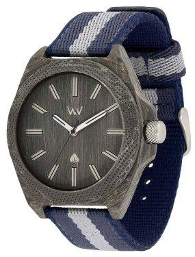 Wewood Holzuhr Herren Armbanduhr mit Nylonarmband WW55002