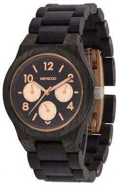 Wewood Holzuhr Damenuhr Kyra Black rose Armbanduhr WW49001