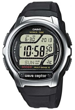 Casio Herren Funk Uhr Wave Ceptor WV-58E-1AVEG