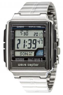 Casio Uhr Herren WV-59DE-1AVEG Funk Wave Ceptor Armbanduhr