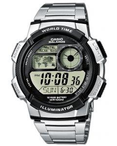 Casio Uhr AE-1000WD-1AVEF Digital Uhr silber