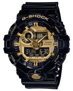 Casio G-Shock Uhr GA-710GB-1AER Armbanduhr schwarz golden