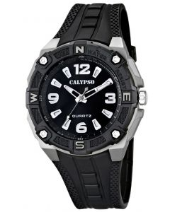 Herrenuhr Calypso by Festina Herren Uhr schwarz K5634/1 Armbanduhr