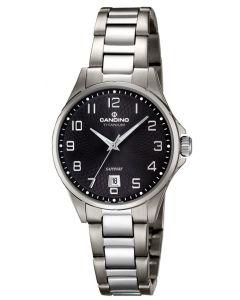 Candino Titanium Damenuhr C4608/4 Armbanduhr Titan Saphirglas
