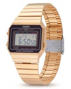 Casio Vintage Armbanduhr Digitaluhr A700WEG-9AEF vorne