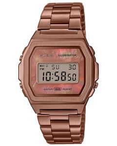 Casio Digitaluhr Armbanduhr Vintage ICONIC A1000RG-5EF