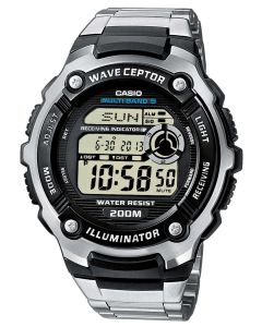 Casio Uhr Funkuhr WV-200DE-1AVER Multi Task Gear