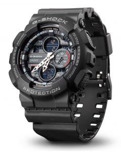 Casio G-Shock Armbanduhr GA-140-1A1ER Analog Digitaluhr vorne