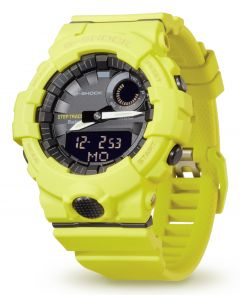 Casio G-Shock Armbanduhr GBA-800-9AER Digitaluhr Bluetooth® Smart vorne