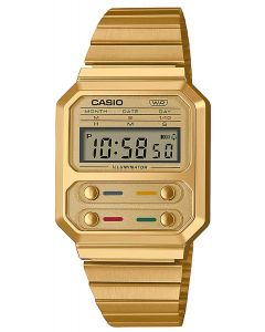 Casio Digitaluhr Armbanduhr Vintage A100WE-1AEF