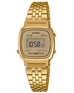Casio Uhr Retro Damenuhr Armbanduhr LA670WETG-9AEF