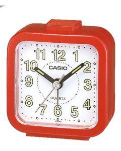 Casio Wecker analog Wake up Timer TQ-141-4EF rot