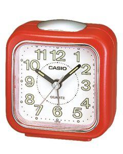 Casio Wecker analog Wake up Timer TQ-142-4EF rot