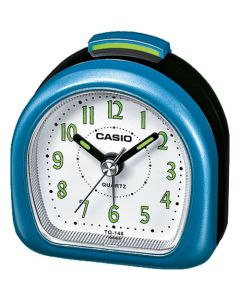 Casio Wecker analog Wake up Timer TQ-148-2EF schwarz blau