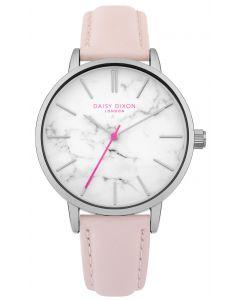 DAISY DIXON Damenuhr Armbanduhr Lederband rosa DD095P