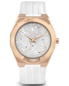 Modische DAISY DIXON Damenuhr Armbanduhr weiß DD120WRG