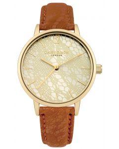 DAISY DIXON Damenuhr Armbanduhr Lederband braun DD051TG
