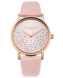 DAISY DIXON Damenuhr Armbanduhr ASTRA Lederband rosa DD053CRG
