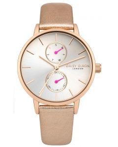 DAISY DIXON Damenuhr Armbanduhr Lederband DD086CRG