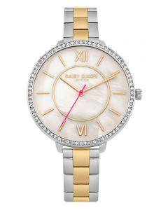 DAISY DIXON Damenuhr Armbanduhr Bicolor Bella DD088SGM