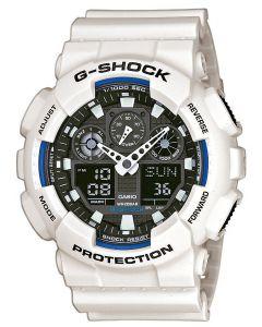 Casio Uhr G-Shock Oversized GA-100B-7AER weiss