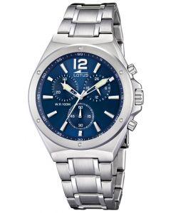 Lotus Armbanduhr Herrenuhr 10118/3 Edelstahl Uhr