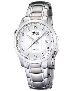 Lotus Armbanduhr Unisex Uhr 15760/2 Edelstahlarmbanduhr silber Datum