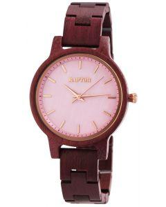 Holzuhr Holz Damen Armbanduhr Raptor RA10187-002