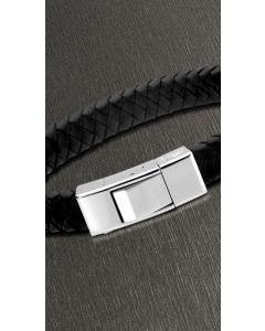 Lotus Style Herren Armband schwarz silber geflochten LS1122-2/1 21 cm