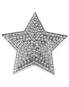 Magnetbrosche Stern Brosche Strass Tuchhalter Strassbrosche Schalhalter Magnet