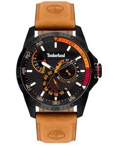 Timberland Herren Armbanduhr TBL15641JSB.02 Lederband braun
