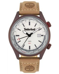 Herren Armbanduhr Timberland Lederband braun TBL15942JSBN.13