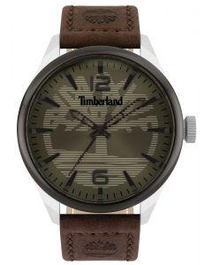 Timberland Herren Armbanduhr Lederband dunkelbraun TBL15945JYTU.53