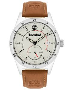 Herren Armbanduhr Timberland Lederband braun TBL15948JYS.63