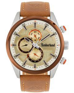 Timberland Herren Armbanduhr TBL15953JSTBN.04 Lederband hellbraun