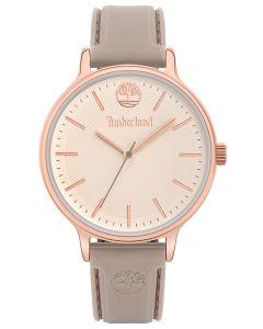 Timberland Damen Armbanduhr Silikonband grau TBL15956MYR.63P