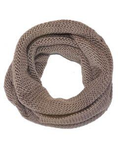 Damen Tubeschal Rundschal braun Viper Loop Schal