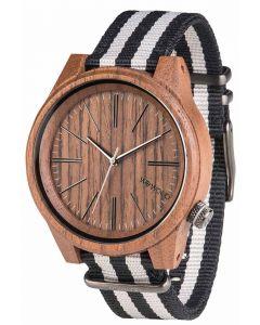 Wewood Holzuhr Armbanduhr mit Nylonarmband WW50001
